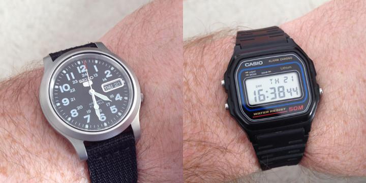 zegarek seiko 5 casio w59