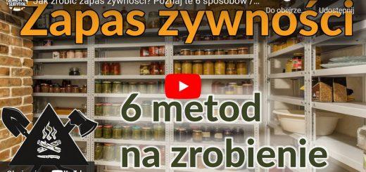 Zapas żywności - 6 sposobów - jak zrobić -- zdjęcie przedstawia spiżarnię z zapasem produktów żywnościowych w słoikach (przetworów), prawdopodobnie domowej roboty
